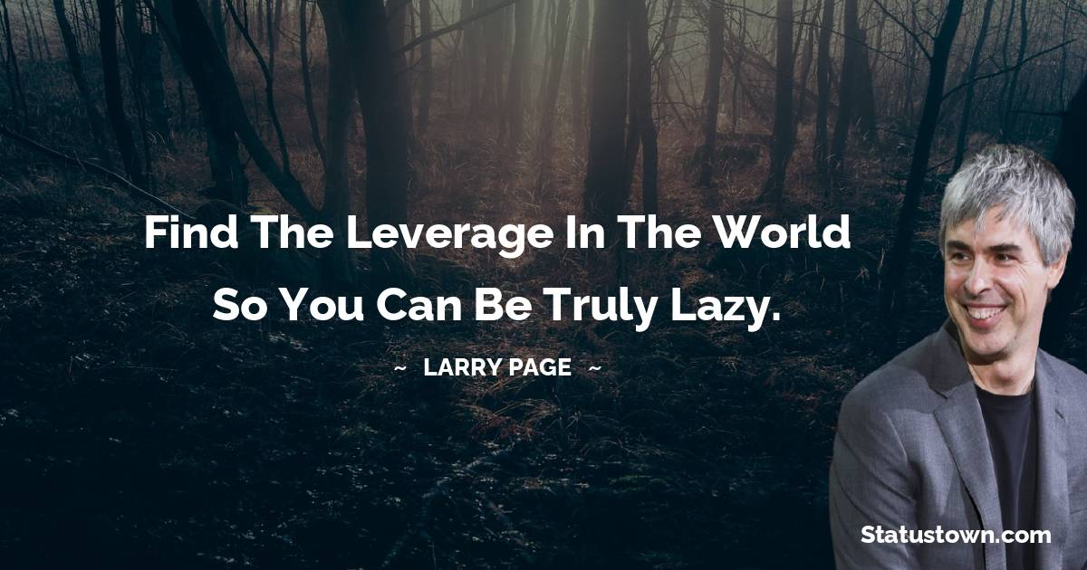 Larry Page Quotes images