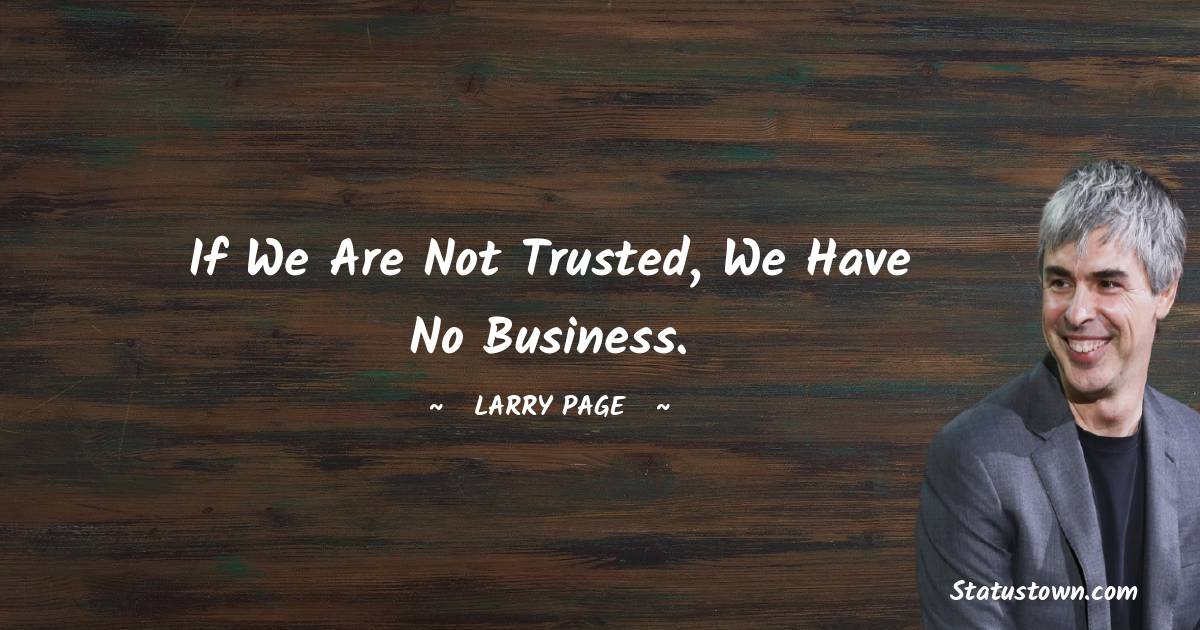 Larry Page Short Quotes