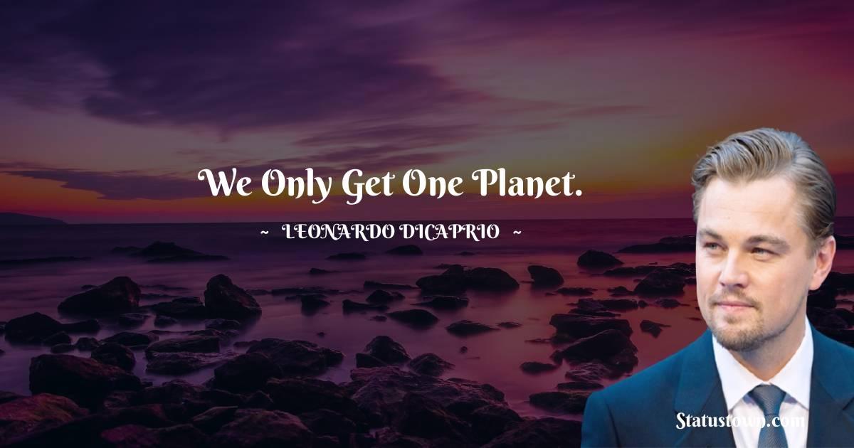 Leonardo DiCaprio Status