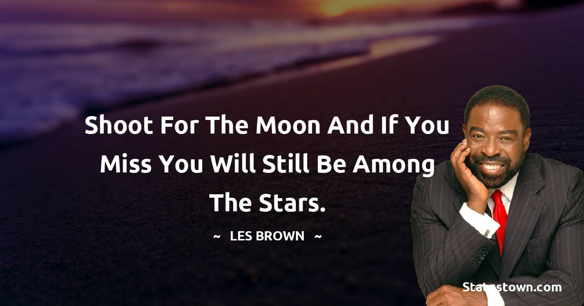 Les Brown Quotes images