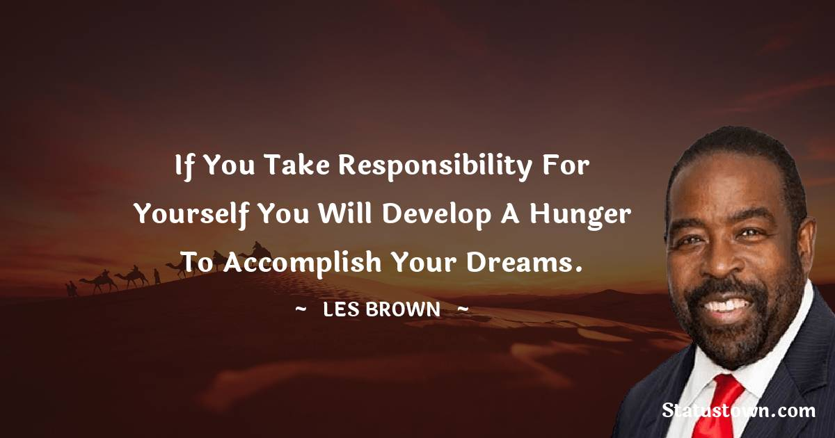 Les Brown Positive Thoughts