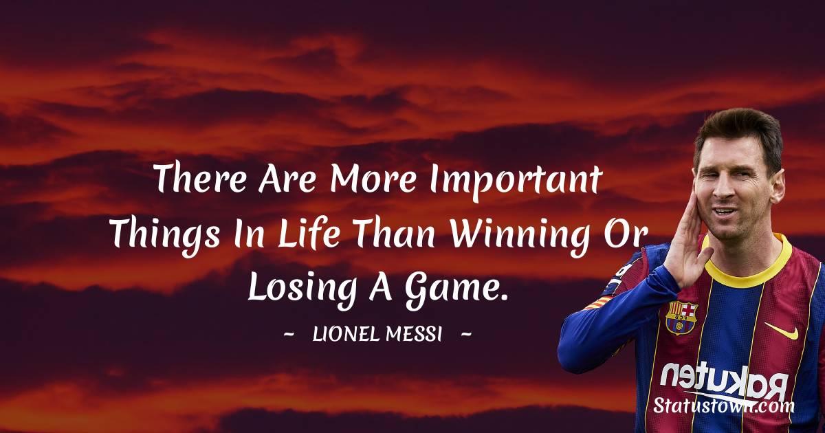Lionel Messi Status