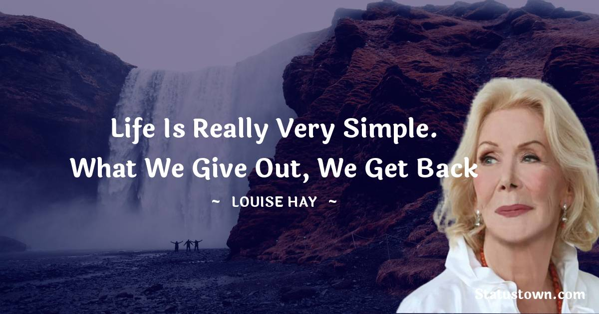 Louise Hay Thoughts