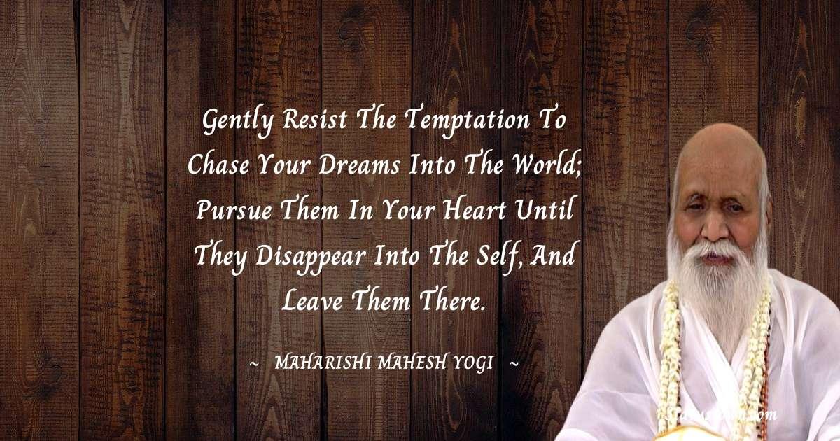 maharishi mahesh yogi Positive Thoughts
