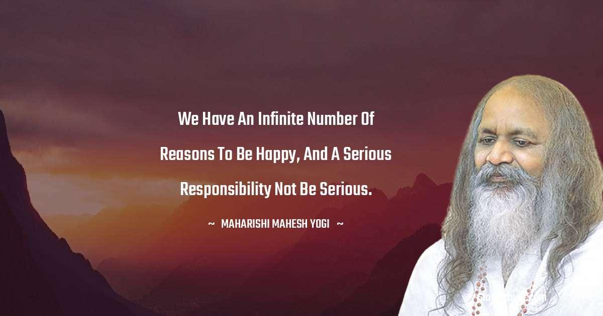 maharishi mahesh yogi Short Quotes