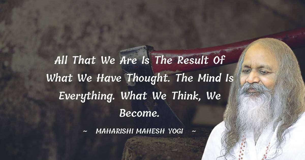 maharishi mahesh yogi Motivational Quotes