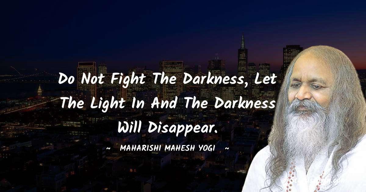maharishi mahesh yogi Inspirational Quotes