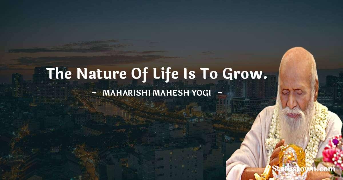 maharishi mahesh yogi Positive Quotes