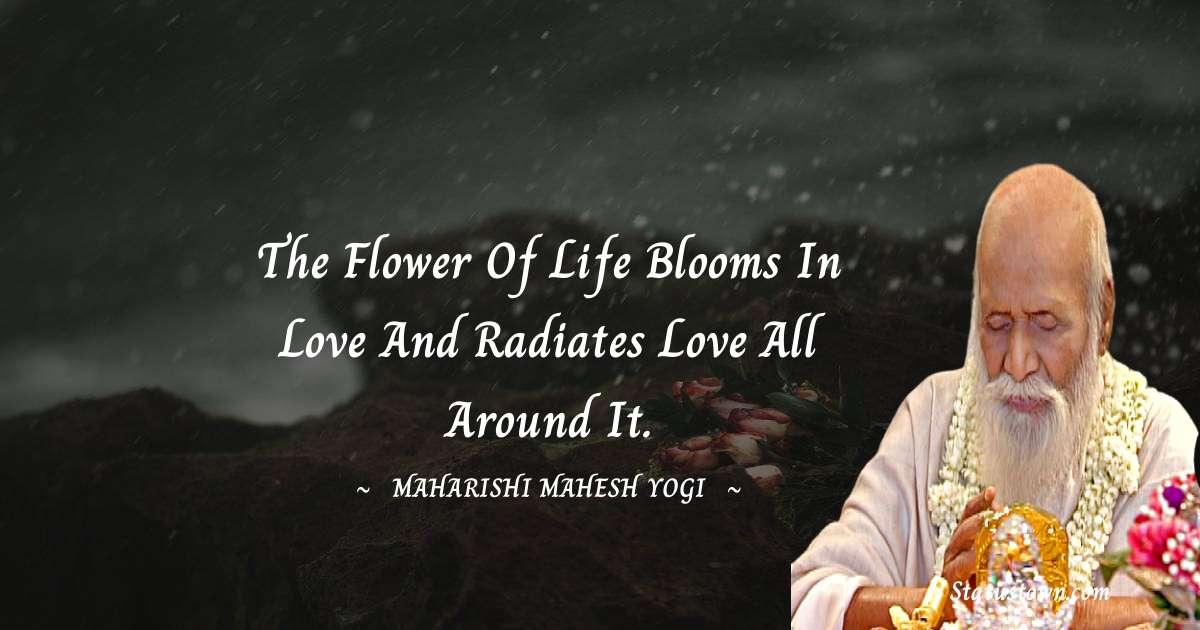 maharishi mahesh yogi Thoughts