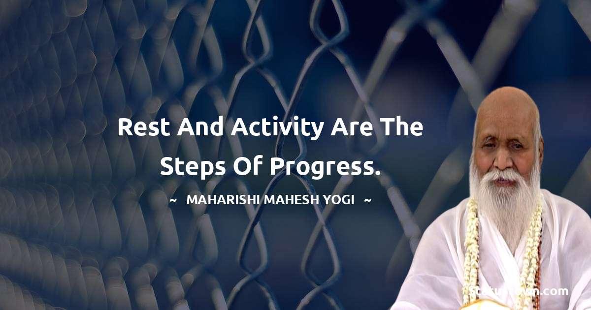 maharishi mahesh yogi Unique Quotes