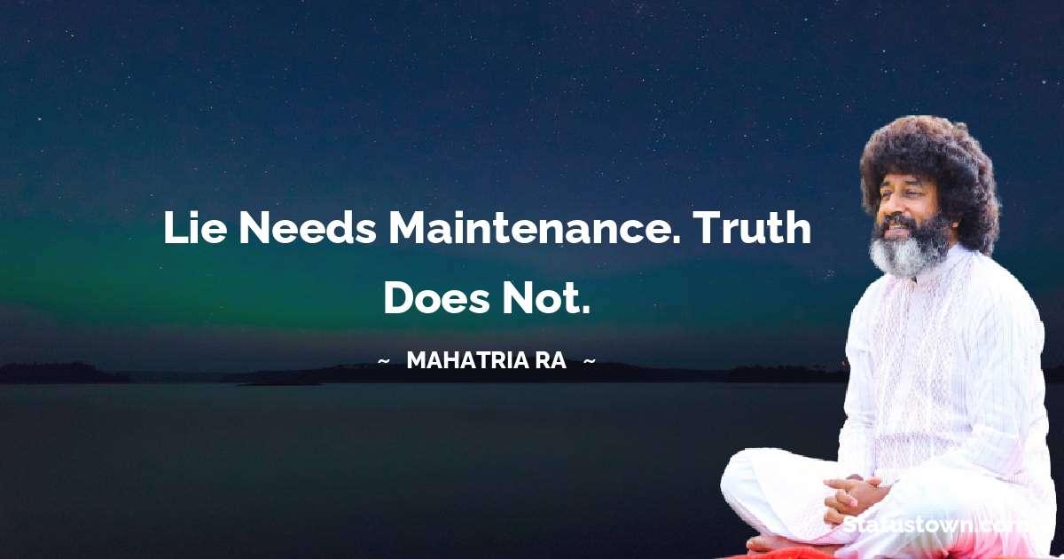 mahatria ra Quotes images