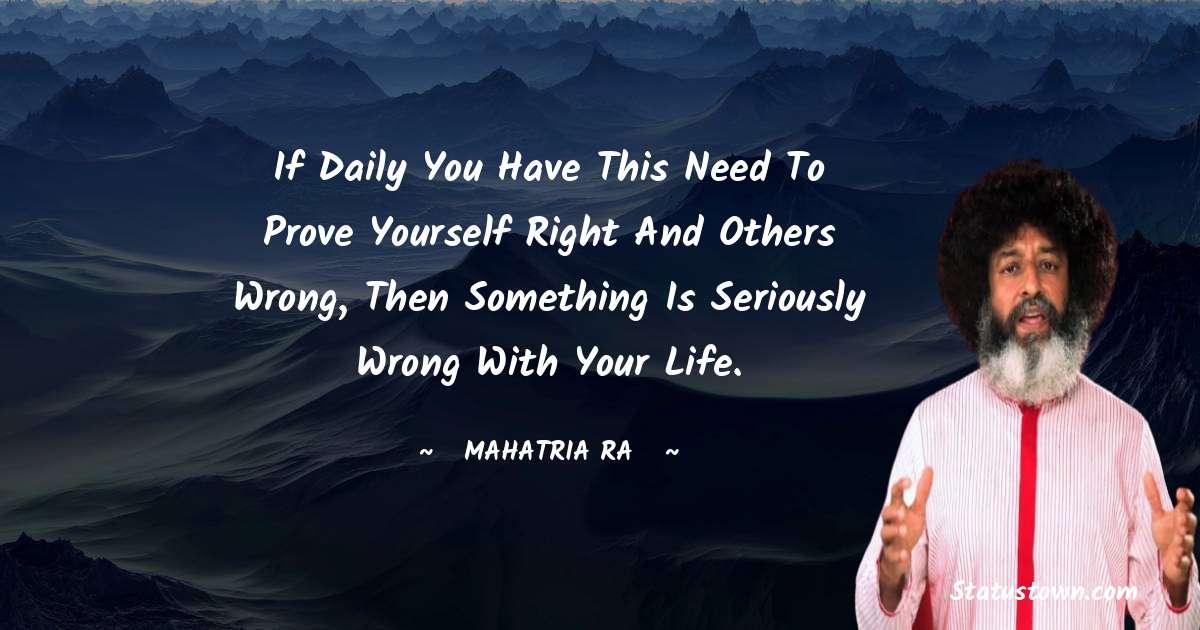 mahatria ra Positive Thoughts