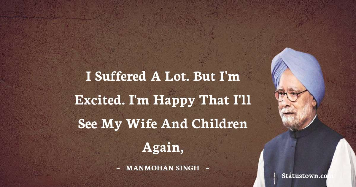 Manmohan Singh Positive Thoughts