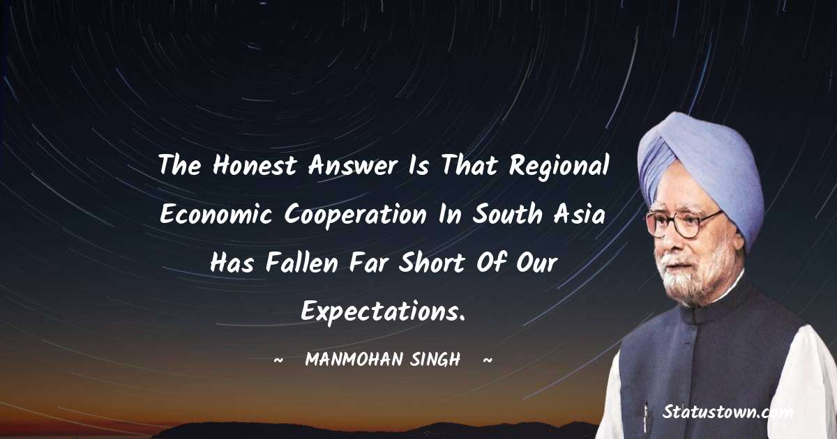 Manmohan Singh Motivational Quotes