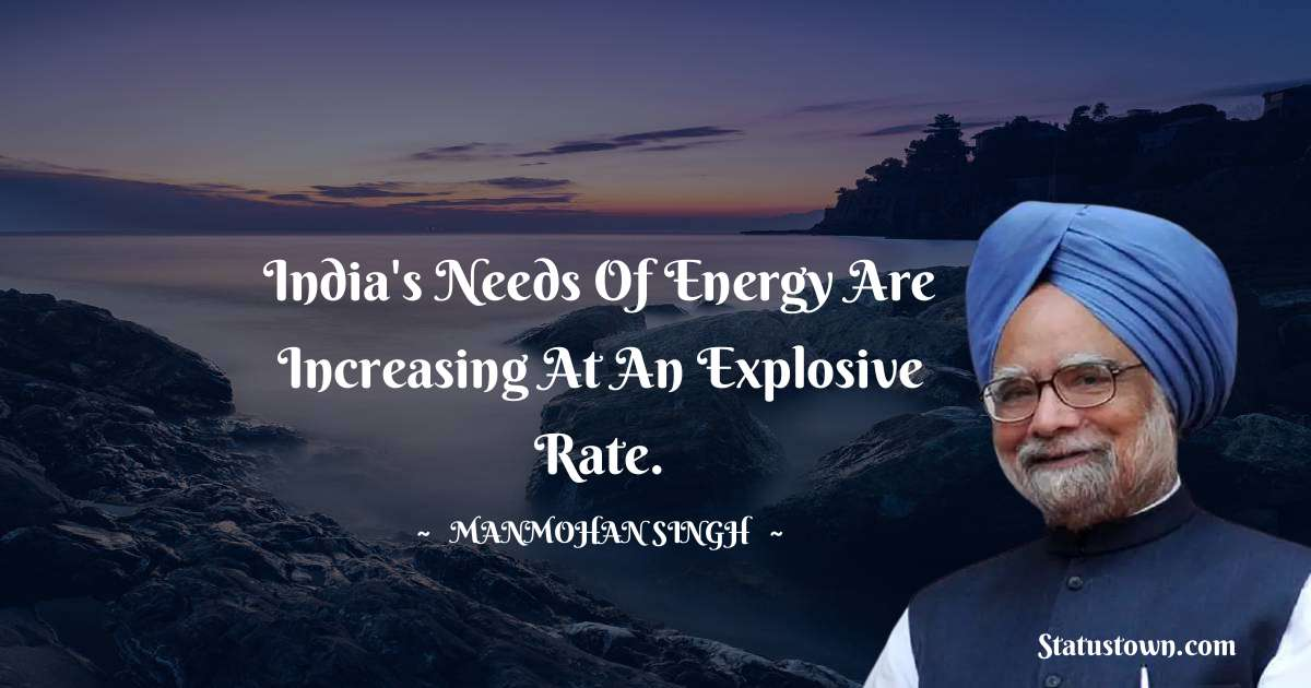Manmohan Singh Thoughts