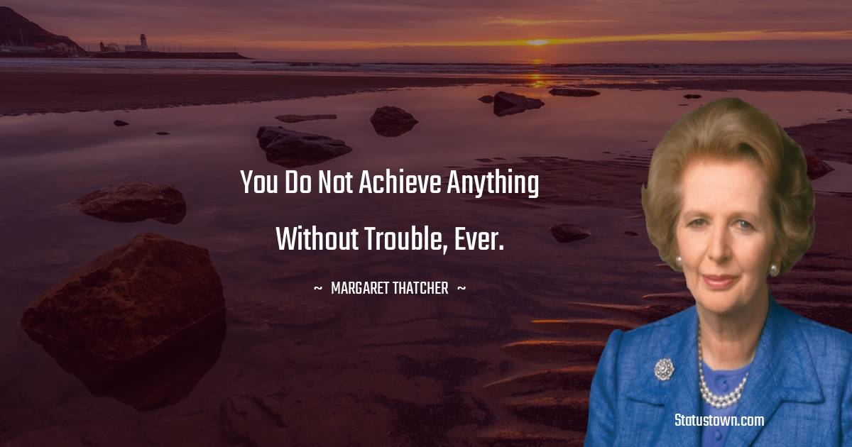 Margaret Thatcher Thoughts