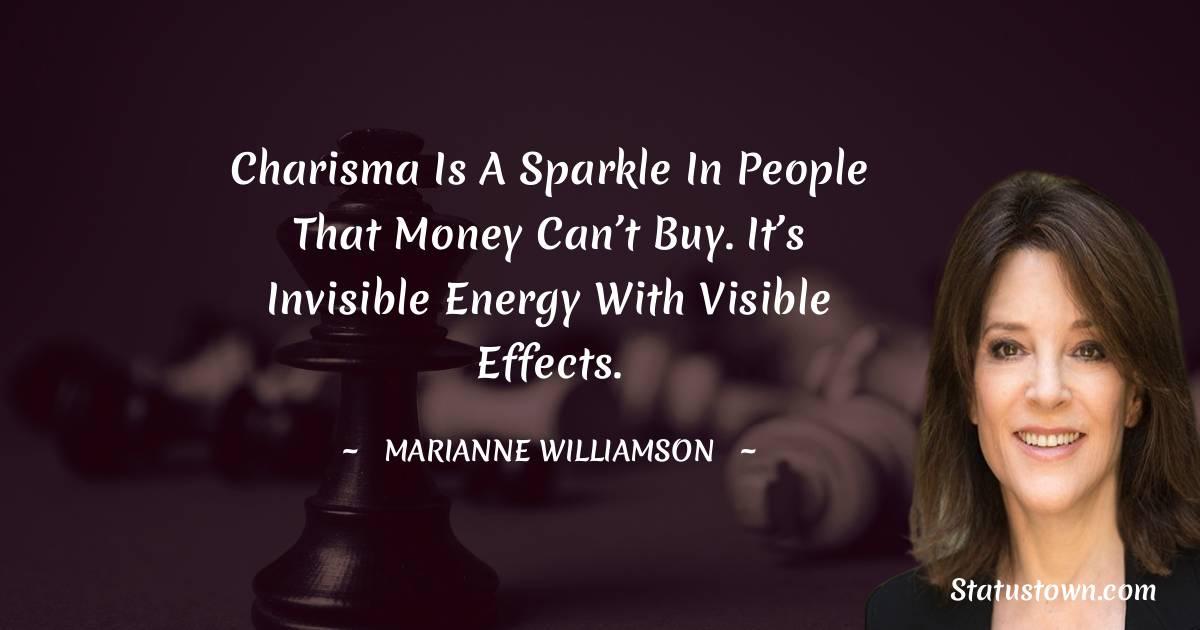 Marianne Williamson Status
