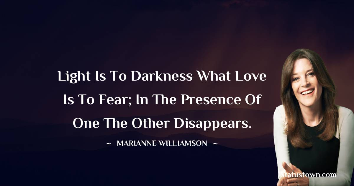 Marianne Williamson Short Quotes