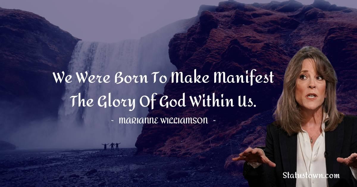 Marianne Williamson Motivational Quotes