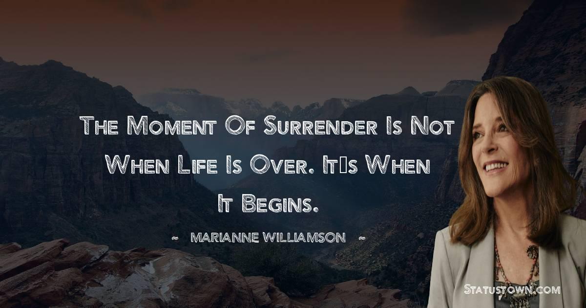 Marianne Williamson Unique Quotes