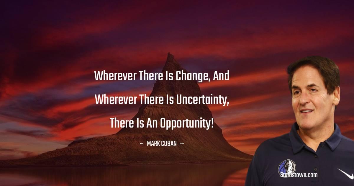 Mark Cuban Inspirational Quotes