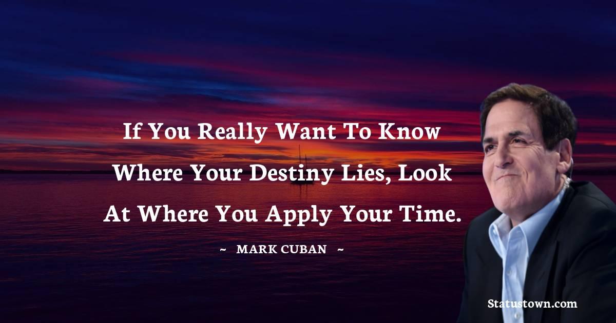 Mark Cuban Positive Quotes