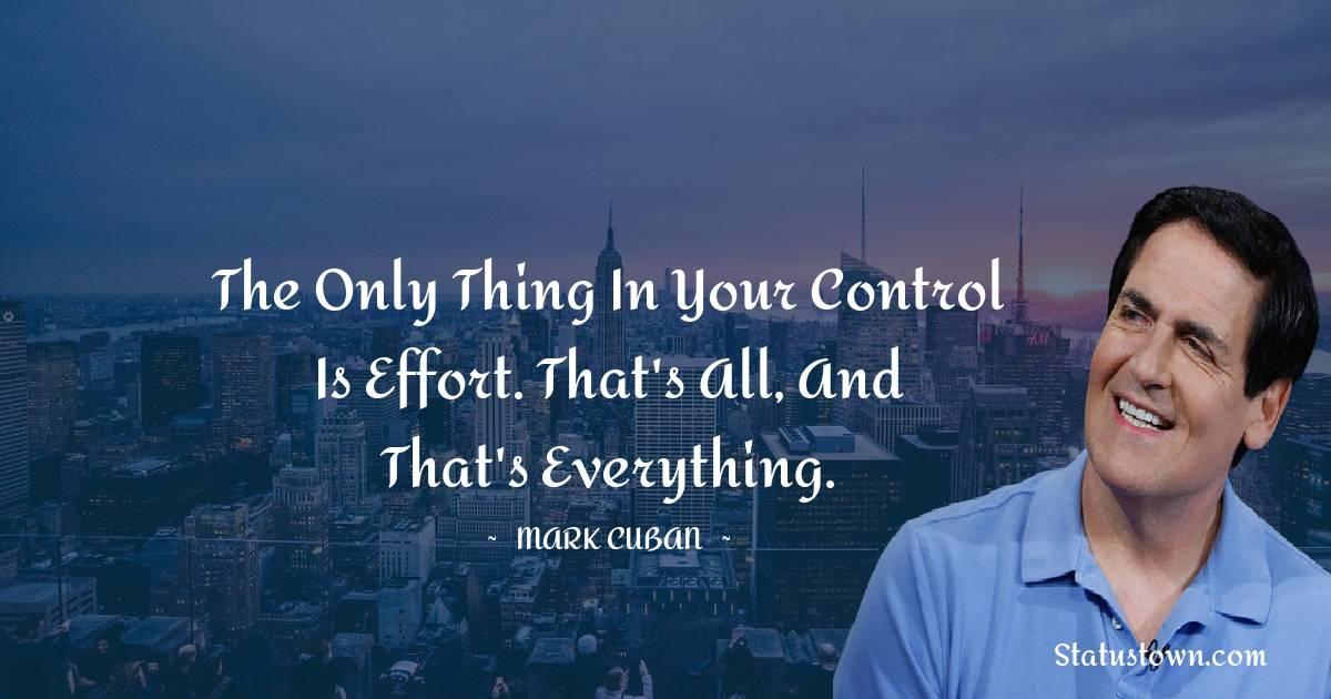 Mark Cuban Unique Quotes