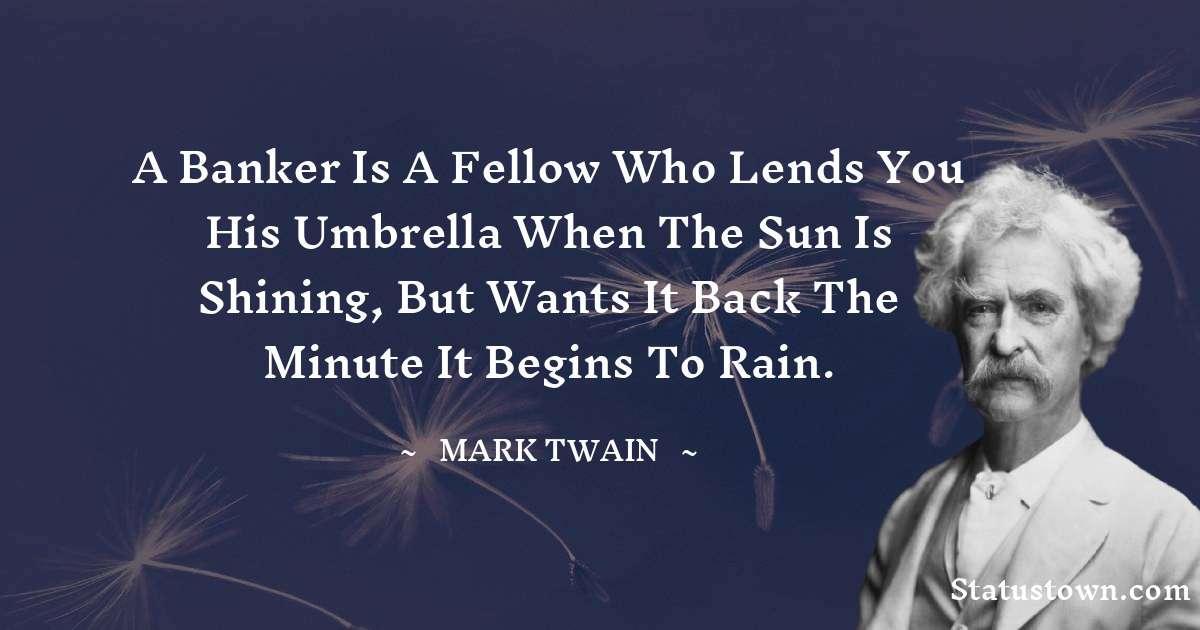 Mark Twain  Status