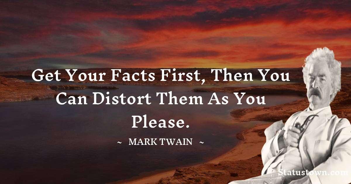 Mark Twain  Motivational Quotes