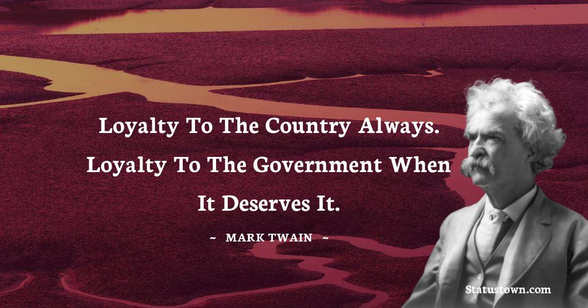 Mark Twain  Positive Quotes