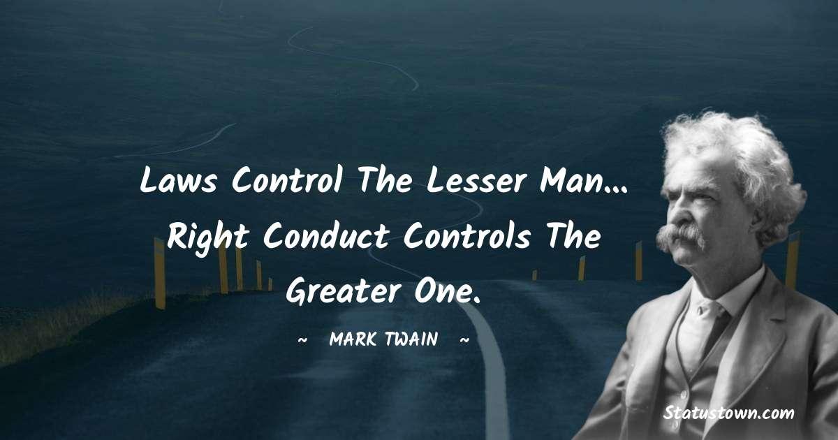 Mark Twain  Thoughts