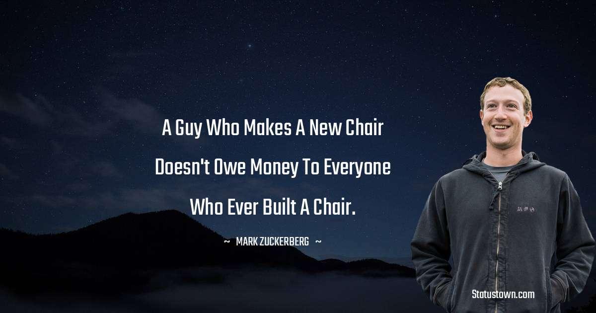 Mark Zuckerberg Short Quotes