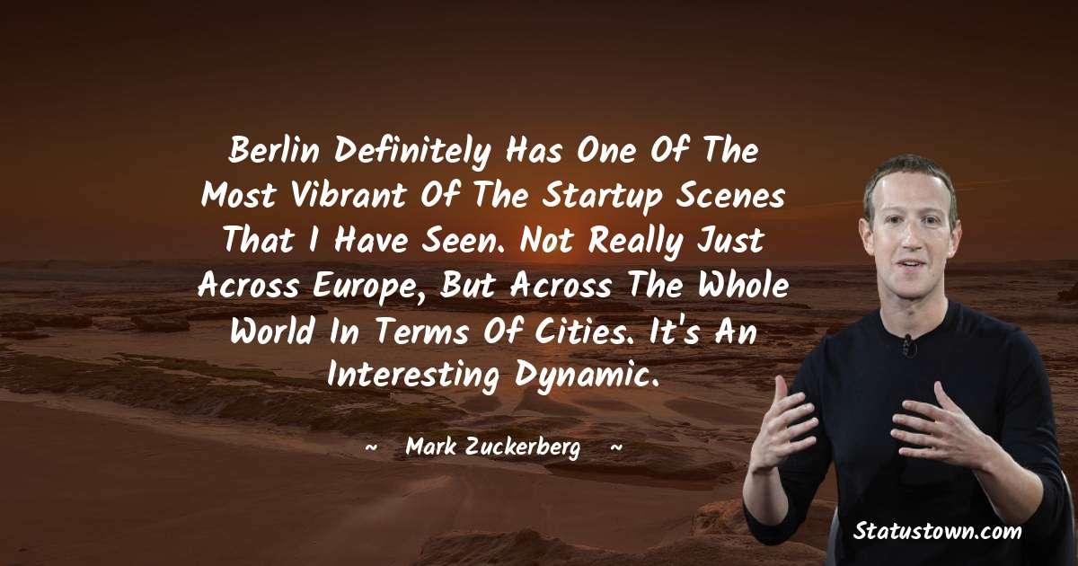 Mark Zuckerberg Positive Quotes