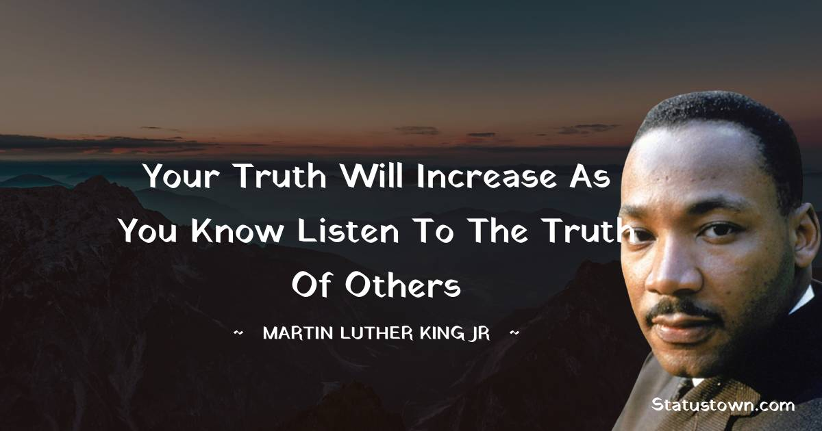 Martin Luther King, Jr.  Motivational Quotes