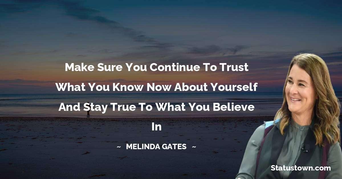 Melinda Gates Status