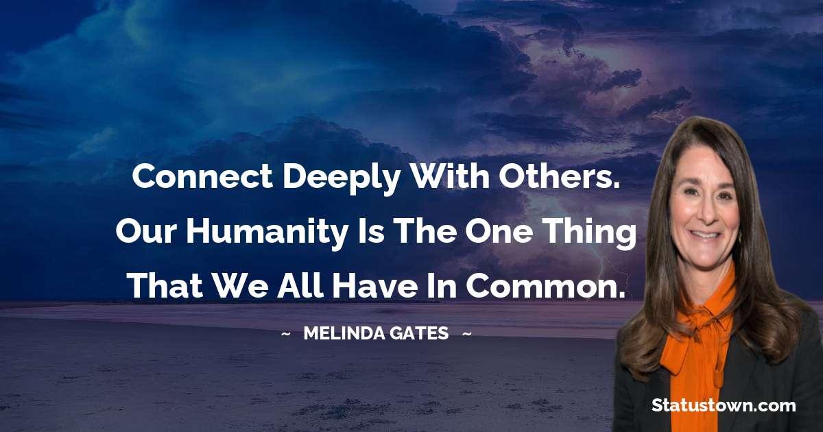 Melinda Gates Short Quotes