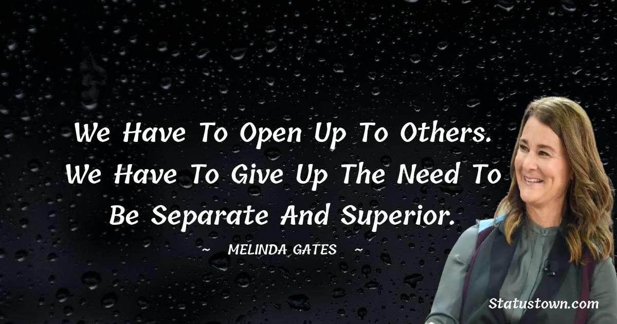 Melinda Gates Unique Quotes