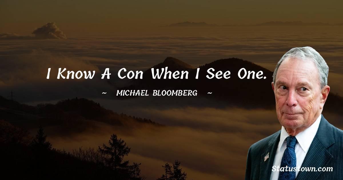 Michael Bloomberg Status