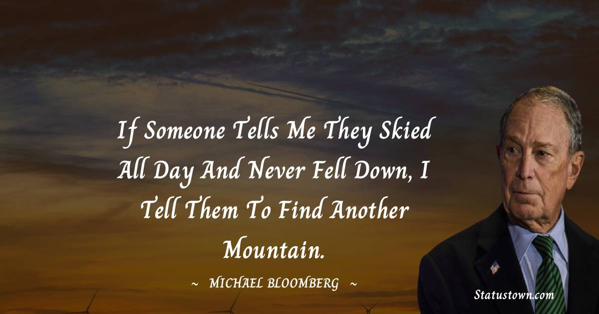 Michael Bloomberg Quotes images