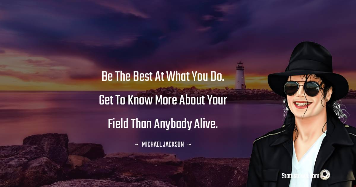 Be the best at what you do. Get to know more about your field than anybody alive.