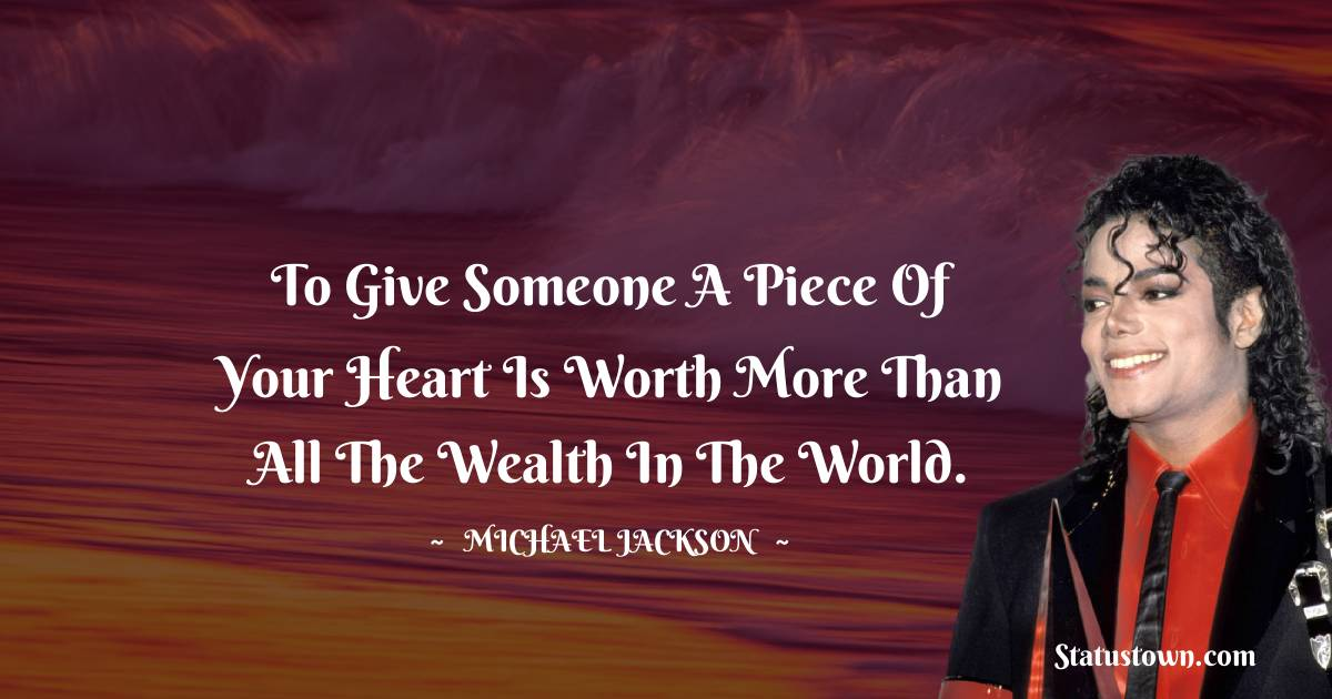 Michael Jackson Positive Thoughts