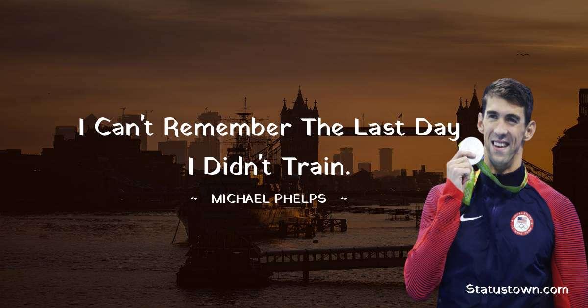 Michael Phelps Status