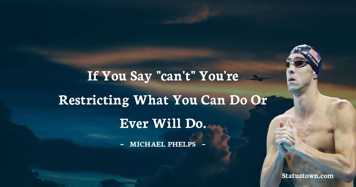 Michael Phelps Quotes images