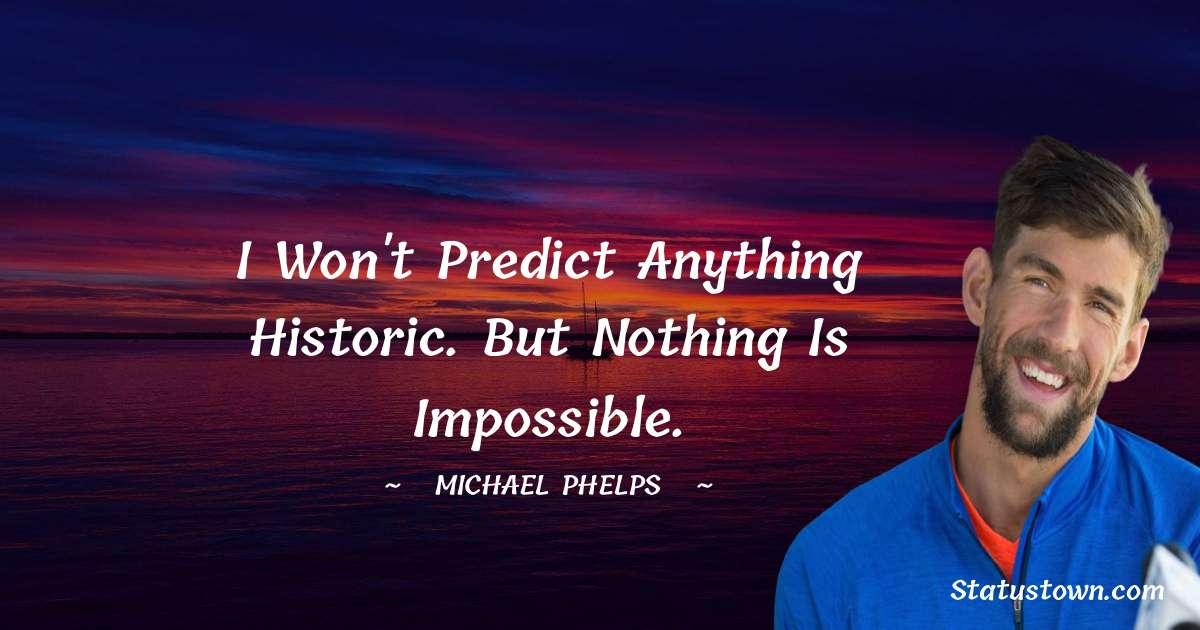 Michael Phelps Motivational Quotes