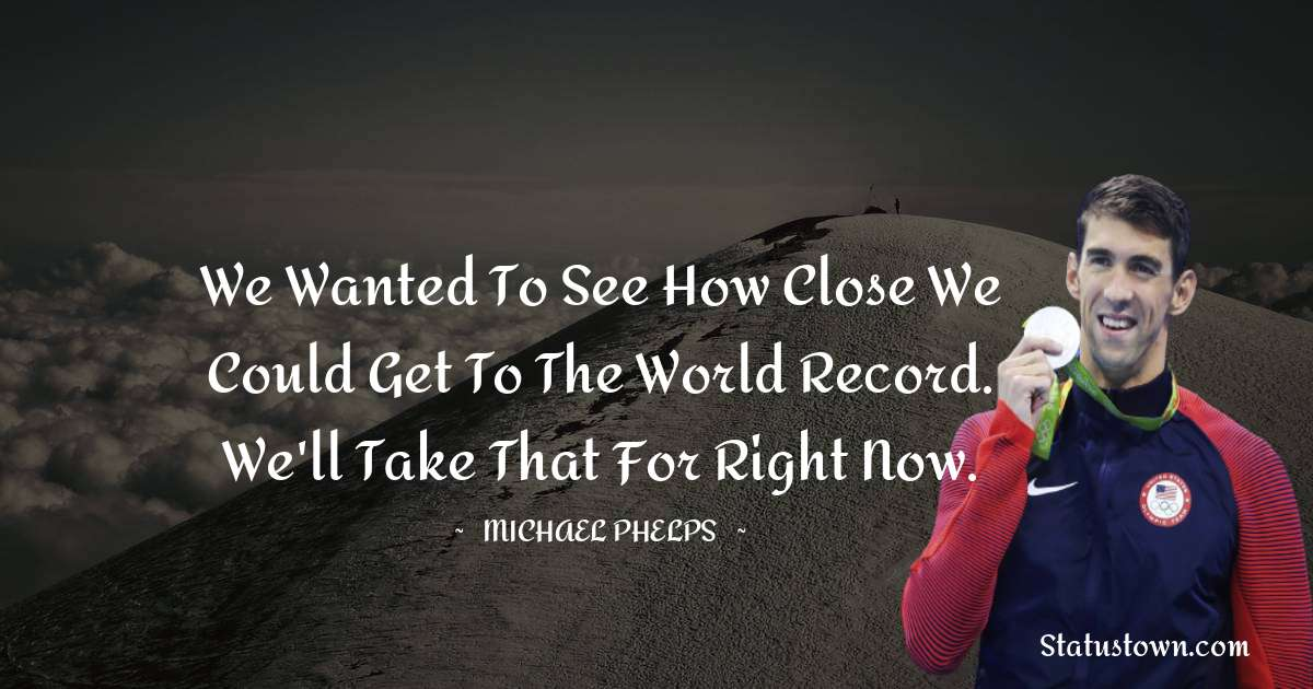 Michael Phelps Thoughts