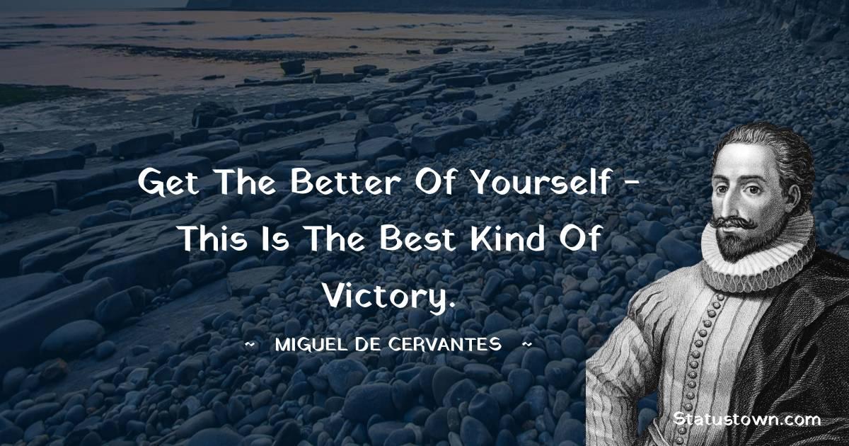 Miguel de Cervantes Status