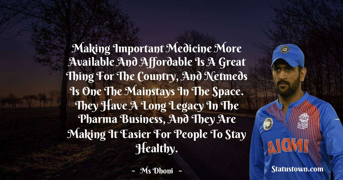 Making important medicine more available and affordable is a great thing for the country, and Netmeds is one the mainstays in the space. They have a long legacy in the pharma business, and they are making it easier for people to stay healthy.