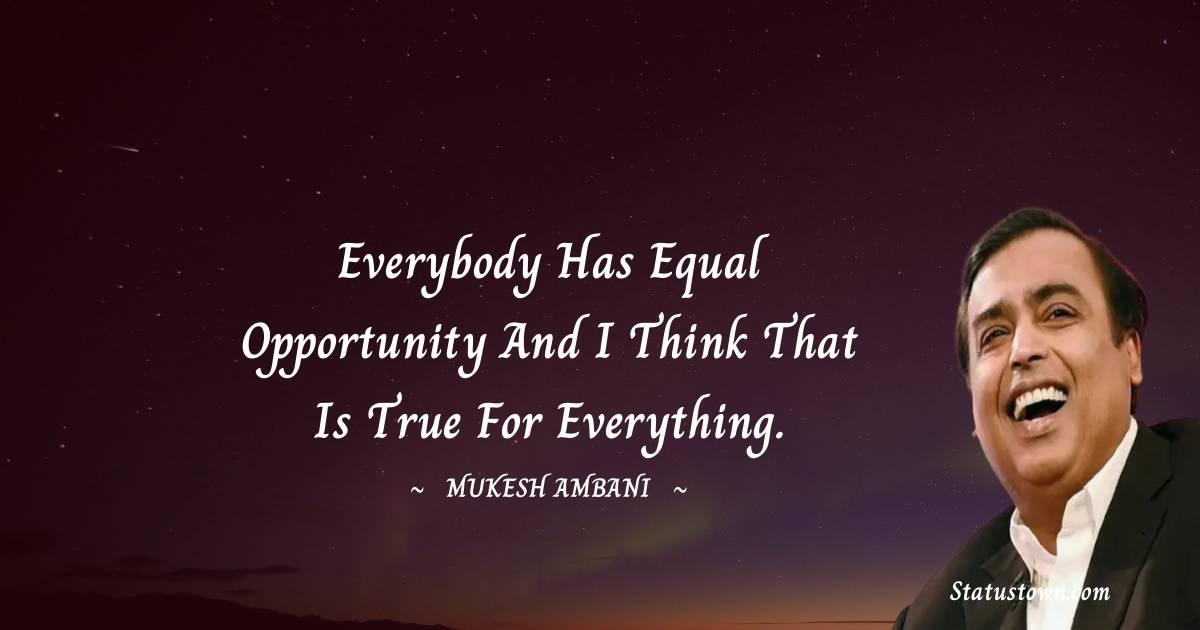 Mukesh Ambani Positive Quotes
