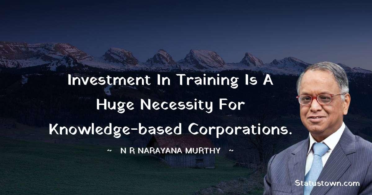 N. R. Narayana Murthy Thoughts