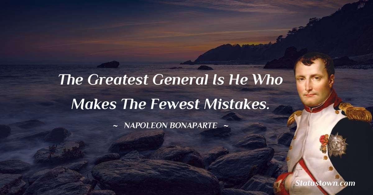 Napoleon Bonaparte Status